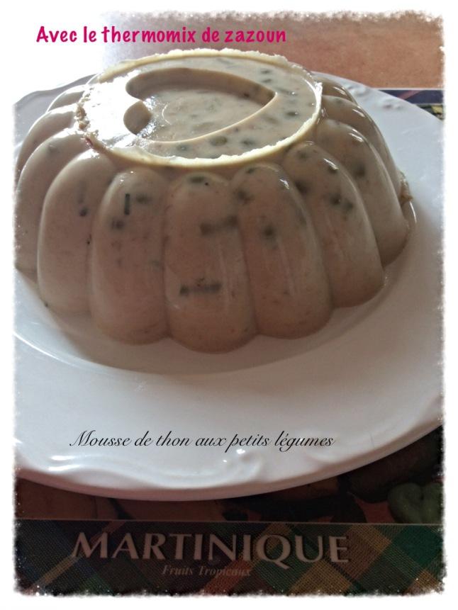 Mousse de thon et ses petits l gumes en gel e au thermomix - Ou trouver de la mousse pour canape ...