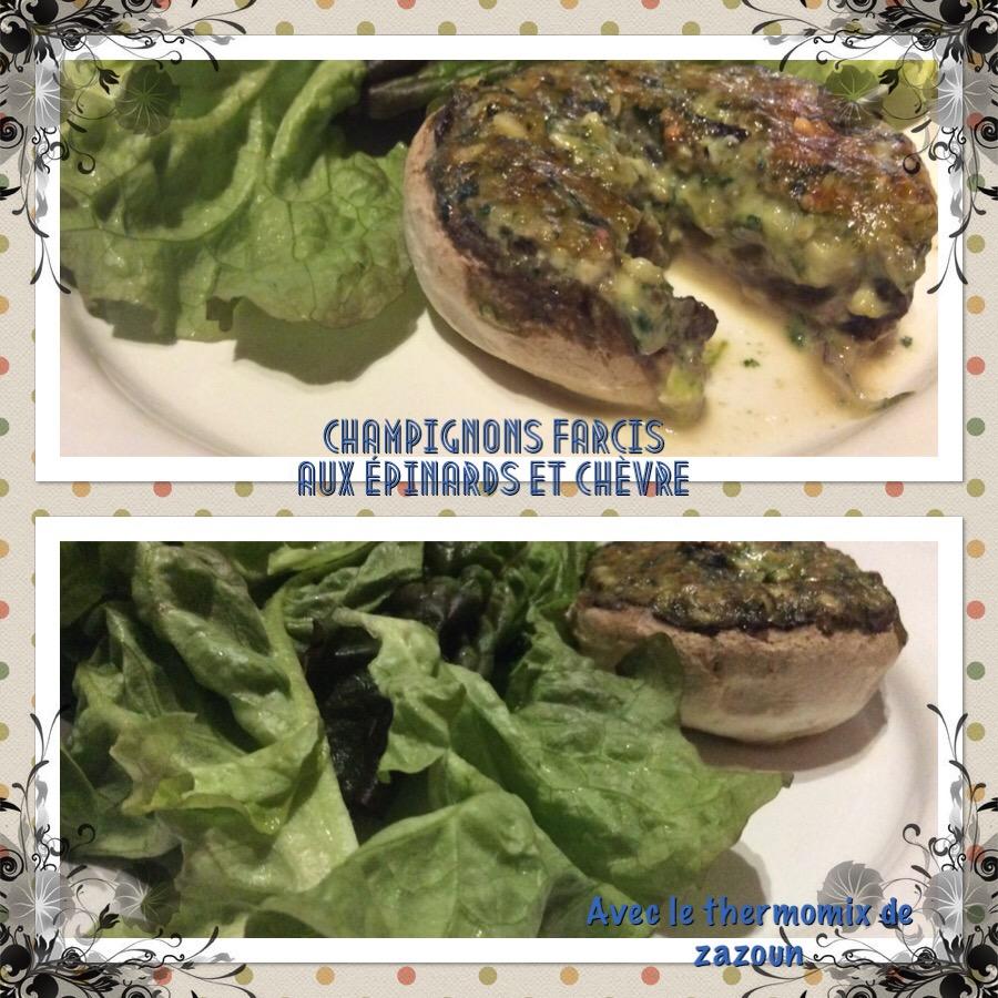 Avec le thermomix de zazoun la cuisine au themomix vous - Cuisiner les champignons de paris a la poele ...